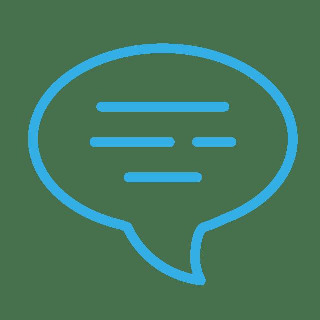 ícone linguagem
