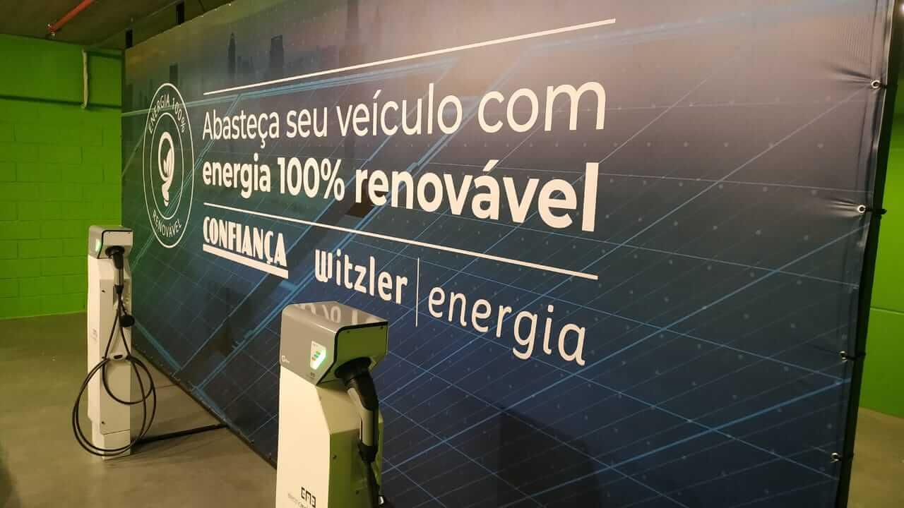 Witzler Energia aposta em ponto de carregamento de veículos elétricos